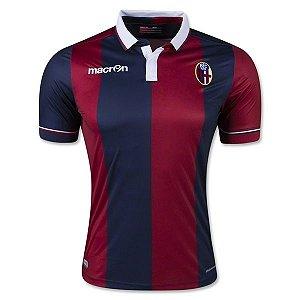 camisa oficial Macron Bologna 2015 2016 I jogador