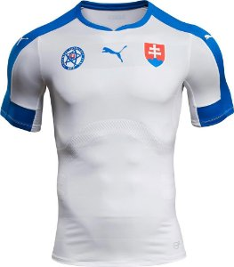 Camisa oficial Puma seleção da Eslovaquia Euro 2016 I jogador