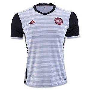 Camisa oficial adidas seleção da Dinamarca 2016 II jogador