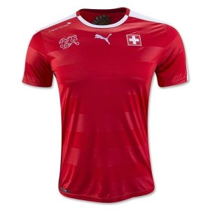 Camisa oficial Puma seleção da Suiça Euro 2016 I jogador
