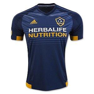 Camisa oficial Adidas Los Angeles Galaxy 2016 II jogador