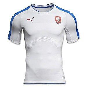 Camisa oficial Puma seleção da Republica Tcheca Euro 2016 II jogador