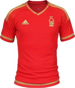 Camisa oficial Adidas Nottingham Forest 2015 2016 150 anos