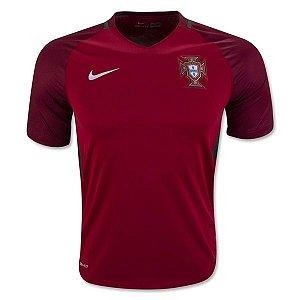 Camisa oficial Nike Seleção de Portugal Euro 2016 I jogador
