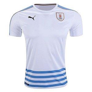 Camisa oficial Puma seleção do Uruguai 2016 II jogador