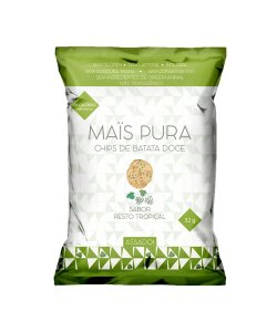 CHIPS DE BATATA DOCE - PESTO TROPICAL