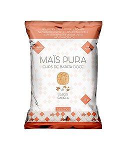 CHIPS DE BATATA DOCE - CANELA