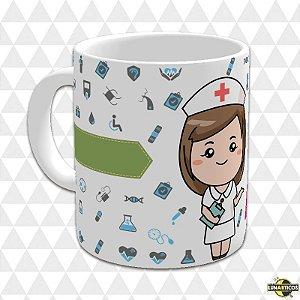 Caneca Enfermeiro(a) c/Nome