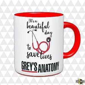Caneca Grey's Anatomy #1