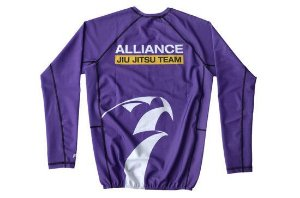 RASH GUARD ALLIANCE ROXA