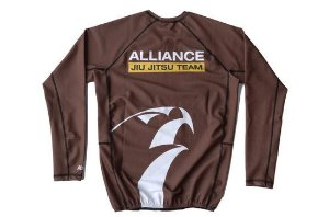 RASH GUARD ALLIANCE MARROM