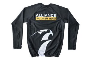 RASH GUARD ALLIANCE PRETA