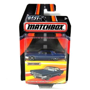 Cadillac Sedan Deville 1969 1/64 Matchbox Best of Matchbox
