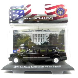 Cadillac Limousine Presidente Barack Obama 2009 1/43 Greenlight
