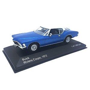 Buick Riviera Coupe 1972 Azul 1/43 Whitebox