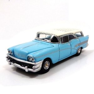 Buick Century Caballero Hellblau 1958 1/87 Bos Best of Show