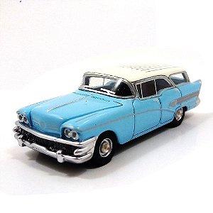 Buick Century Caballero Hellblau 1958 1/87 Bos Best of Show