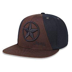 Boné Jeep Estrela Aba Reta
