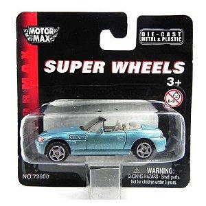 Bmw Z3 1/64 Motor Max Super Wheels