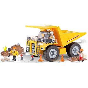 Big Tipper Caminhão Basculante Blocos de Montar 300 Peças Cobi