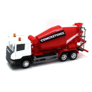 Betoneira Scania P Concretomix 1/64 California Junior Truck
