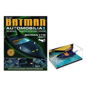 Batboat da hq 112 Automobilia 56 1/43 Eaglemoss