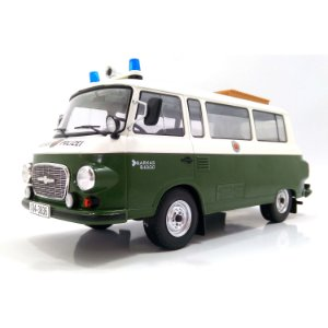 Barkas B 1000 Bus Policia 1965 1/18 Model Car