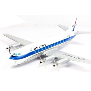 Avião United Airlines Vickers Viscount 700 1/144 Corgi
