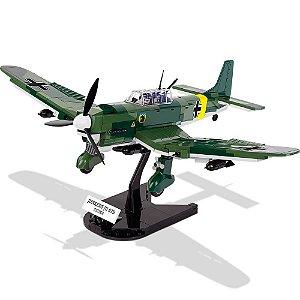 Avião Junkers Ju 87 B Stuka Blocos de Montar 315 Peças Cobi