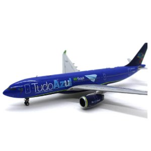 Avião Comercial Airbus A330-200 Azul 1/400 JC Wings