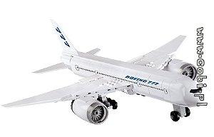 Avião Boeing 777 Blocos de Montar Com 280 Peças Cobi