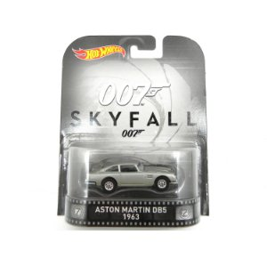 Aston Martin DB5 1963  007 James Bond  Skyfall 1/64 Hot Wheels