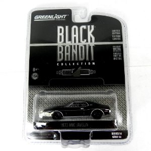 AMC Javelin Black Bandit Série 14 1973 1/64 Greenlight
