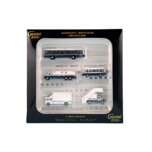Airport Service Vehicles 1/200 Gemini 200
