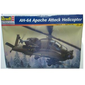 Ah-64 Apache Attack Helicóptero 1/32 Revell