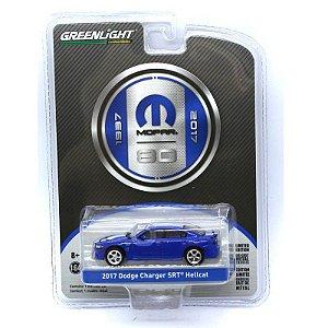 Dodge Charger SRT Hellcat 2017 Mopar 80 Anos 1/64 Greenlight