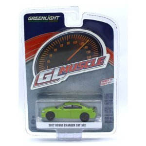 Dodge Charger SRT 392 2017 GL Muscle Serie 19 1/64 Greenlight