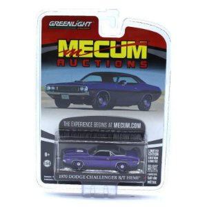 Dodge Challenger RT Hemi 1970 Mecum Auctions 1/64 Greenlight
