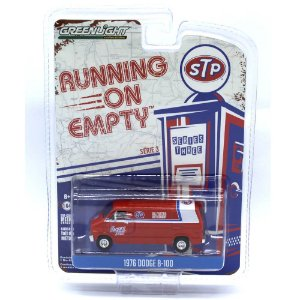 Dodge B100 1976 Running on Empty Serie 3 1/64 Greenlight