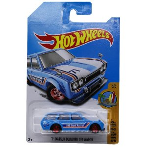 Datsun Bluebird 510 Wagon 1971 1/64 Hot Wheels