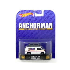 Custom Dodge Van Anchorman 1977 1/64 Hot Wheels