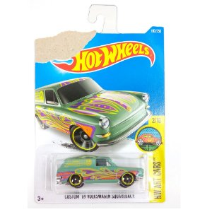 Custom 1969 Volkswagen Squareback HW Art Cars 1/64 Hot Wheels