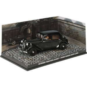 Citroen Traction 1/43 IXO –  007 James Bond  Contra Moscou