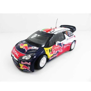 Citroen DS3 WRC Rally 2011 Red Bull 1/18 Norev