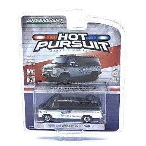 Chevrolet G20 Van 1985 Hot Pursuit Serie 24 1/64 Greenlight