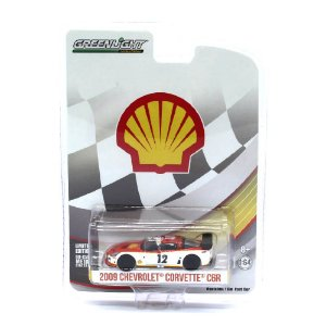 Chevrolet Corvette C6R 2009 Shell 1/64 Greenlight