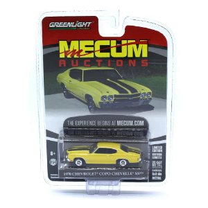Chevrolet Copo Chevelle SS 1970 Mecum Auctions 1/64 Greenlight