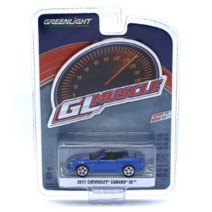 Chevrolet Camaro SS 2017 Serie 18 GL Muscle 1/64 Greenlight