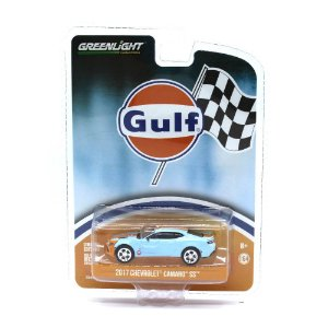 Chevrolet Camaro SS 2017 Gulf 1/64 Greenlight
