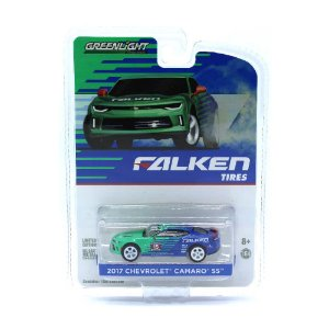 Chevrolet Camaro SS 2017 Falken Tires 1/64 Greenlight